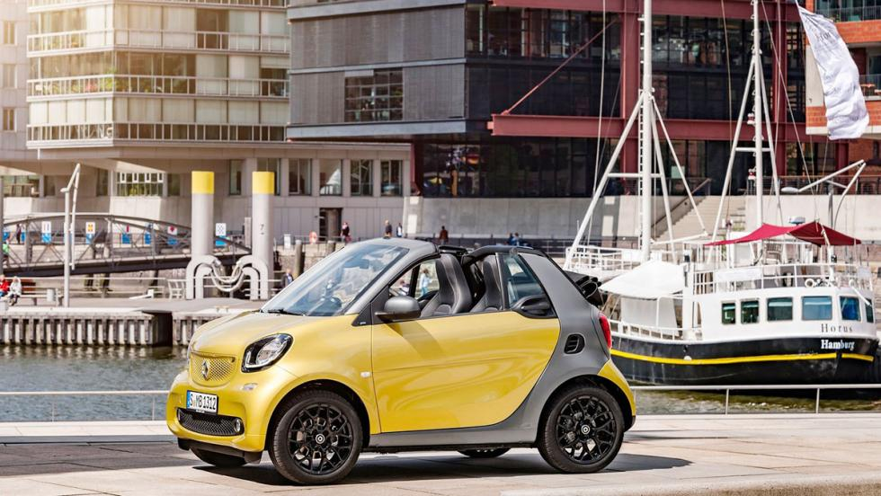 Los mejores cabrios 2017 - Smart Fortwo Cabrio