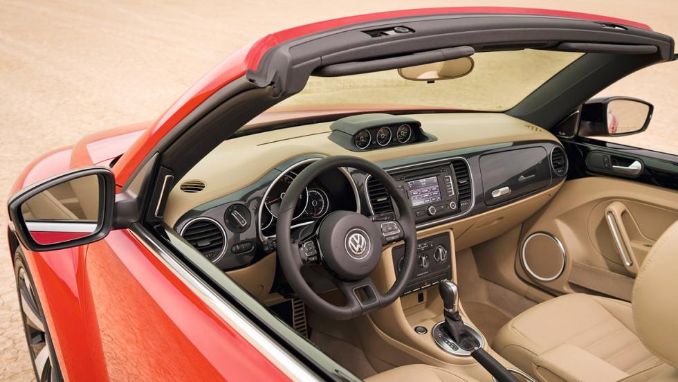 Los mejores cabrios 2017 - Volkswagen Beetle Cabrio