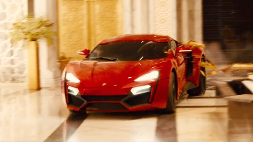 Los mejores coches de Fast and Furious - Lykan HyperSport