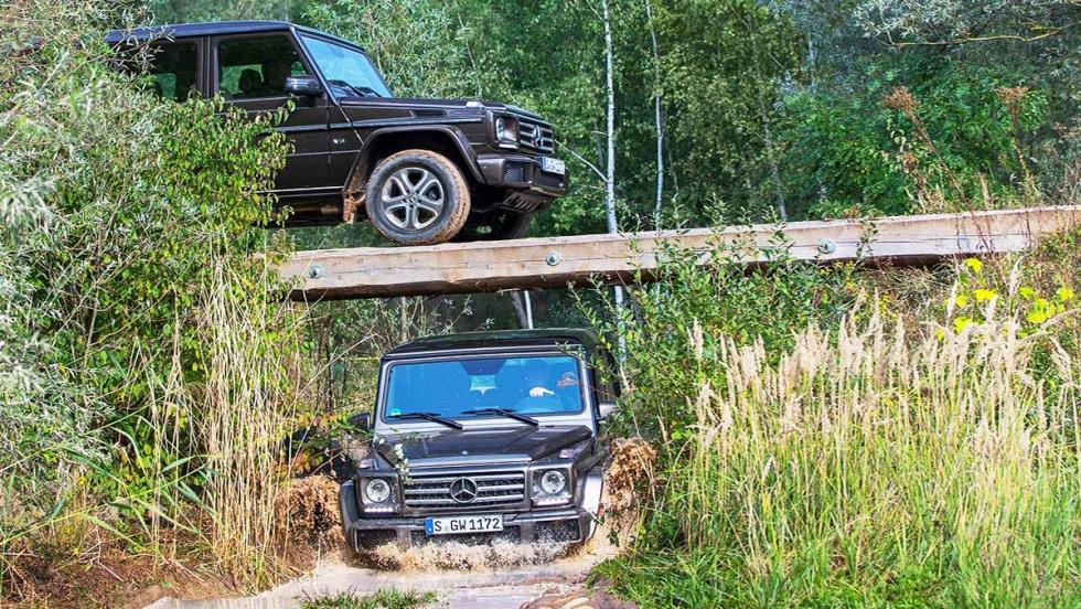 Los mejores todoterrenos 2017 - Mercedes-Benz Clase G