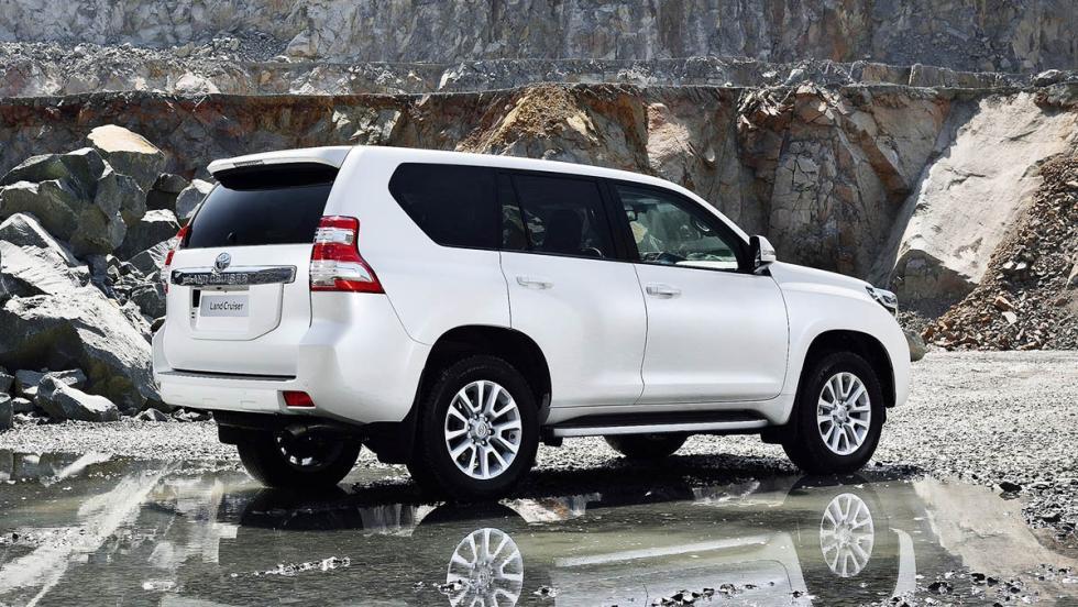 Los mejores todoterrenos 2017 - Toyota Land Cruiser