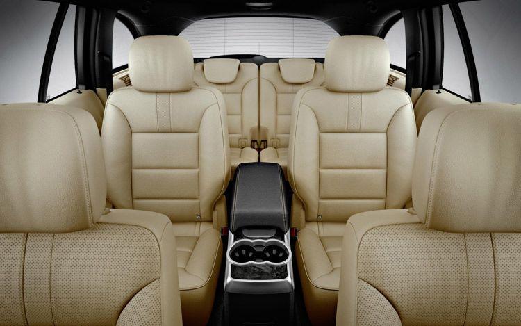 Mercedes Clase R interior
