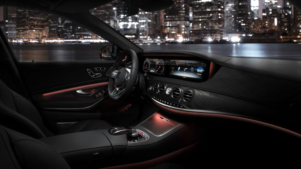 Mercedes Clase S, interior (I)
