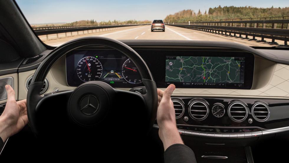 Mercedes Clase S, interior (II)