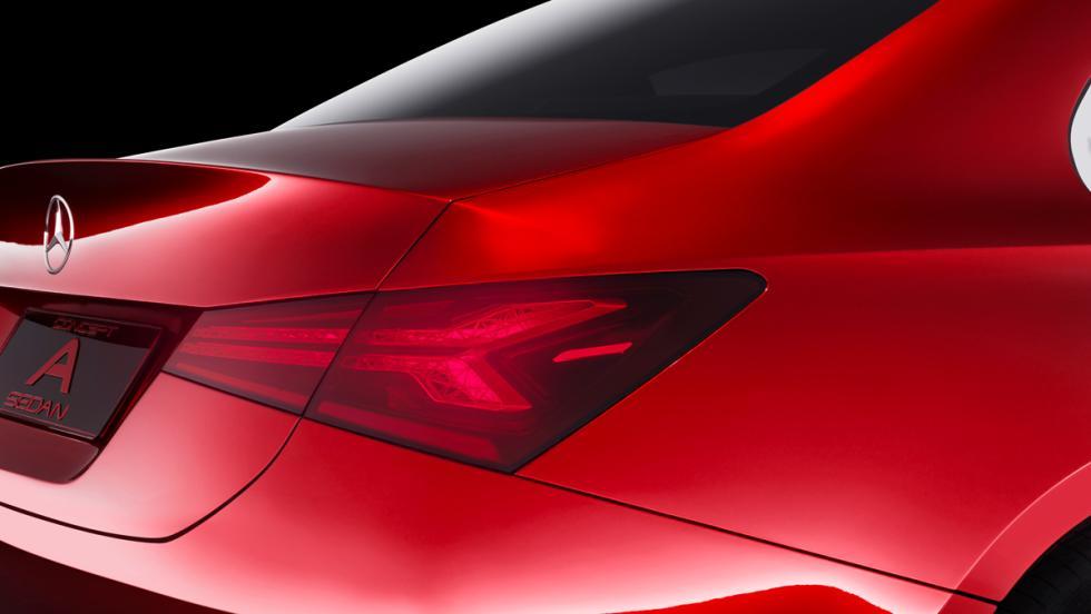 Mercedes Concept A Sedan (detalle)