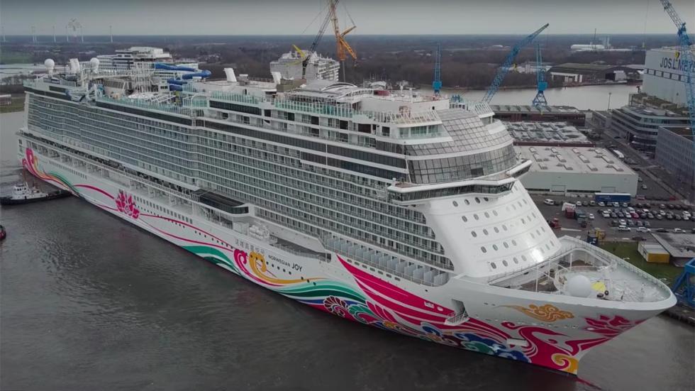 Norwegian Joy: crucero de lujo