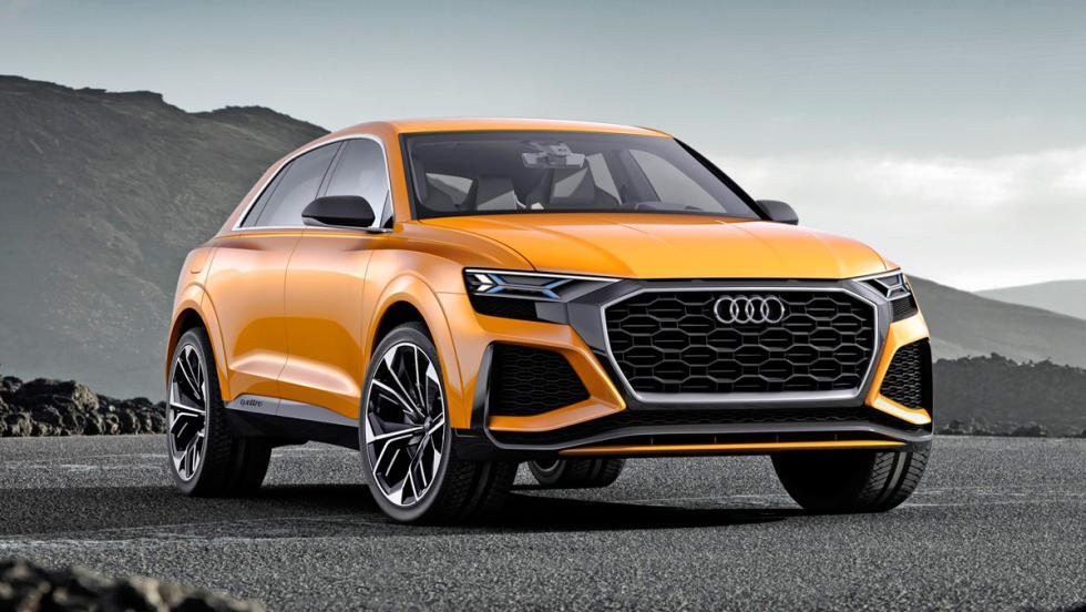 Nuevos SUV de Audi: Audi Q8 Sport Concept (I)