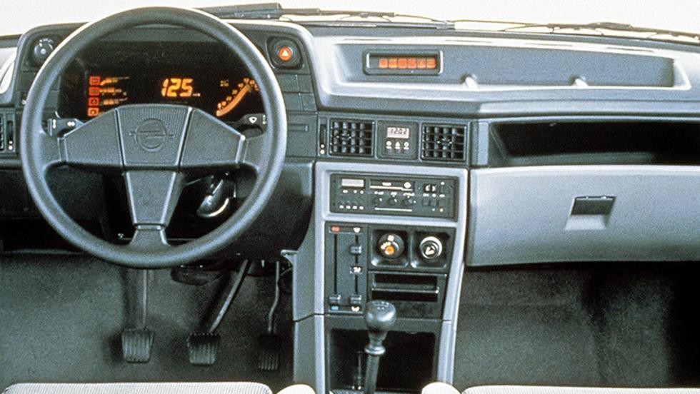 El Opel Kadett GSi de 1984