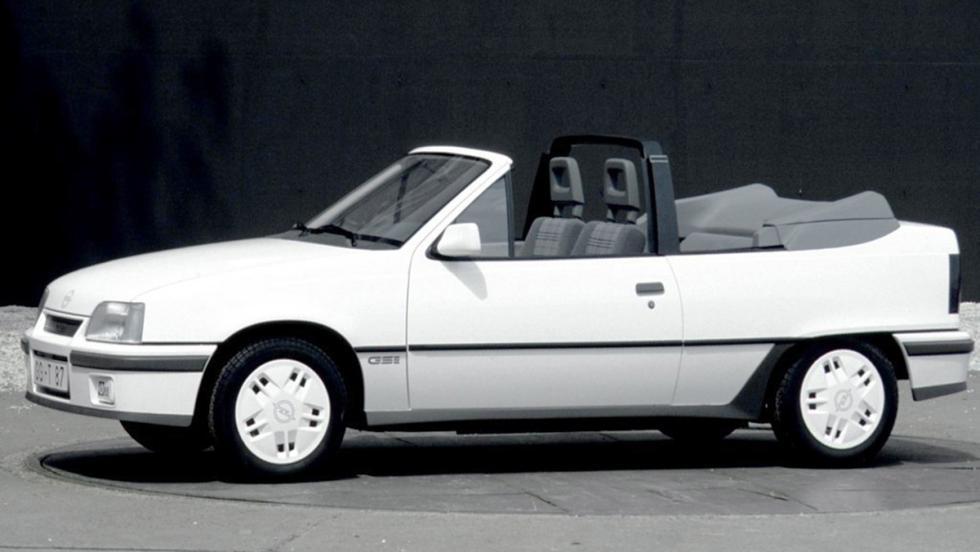 Opel Kadett GSi Cabrio, firmado por Bertone