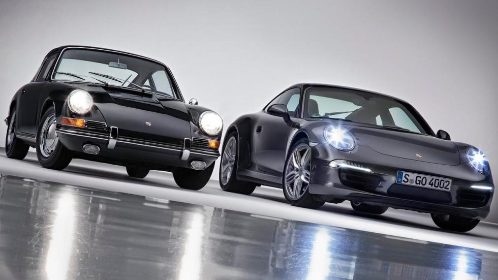 Porsche 911 clásico moderno