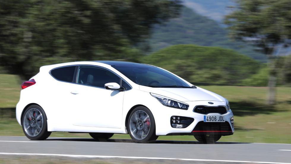 Prueba Kia Proceed GT (lateral)