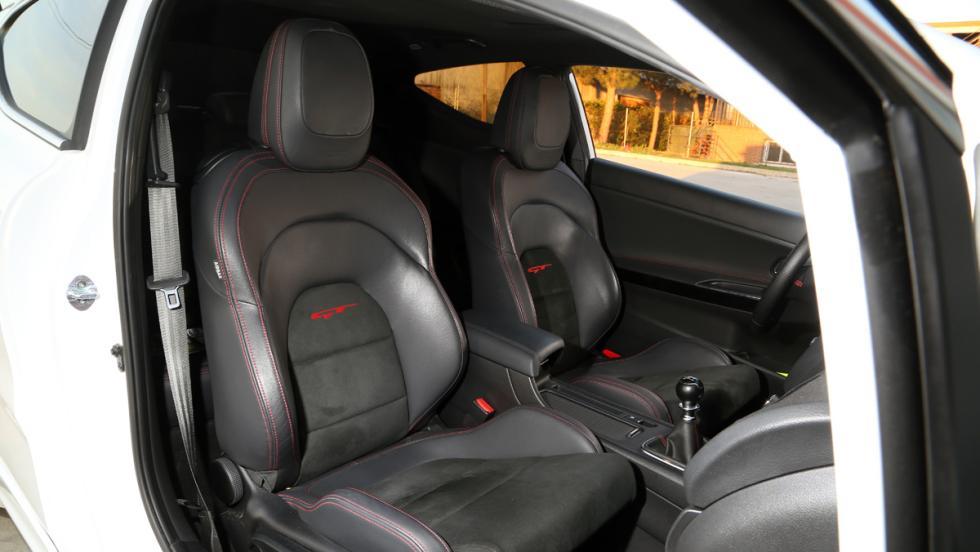 Prueba Kia Proceed GT (asientos)