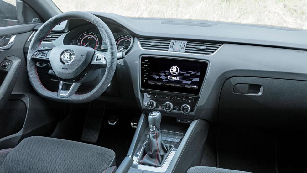 Prueba del Skoda Octavia RS 2017