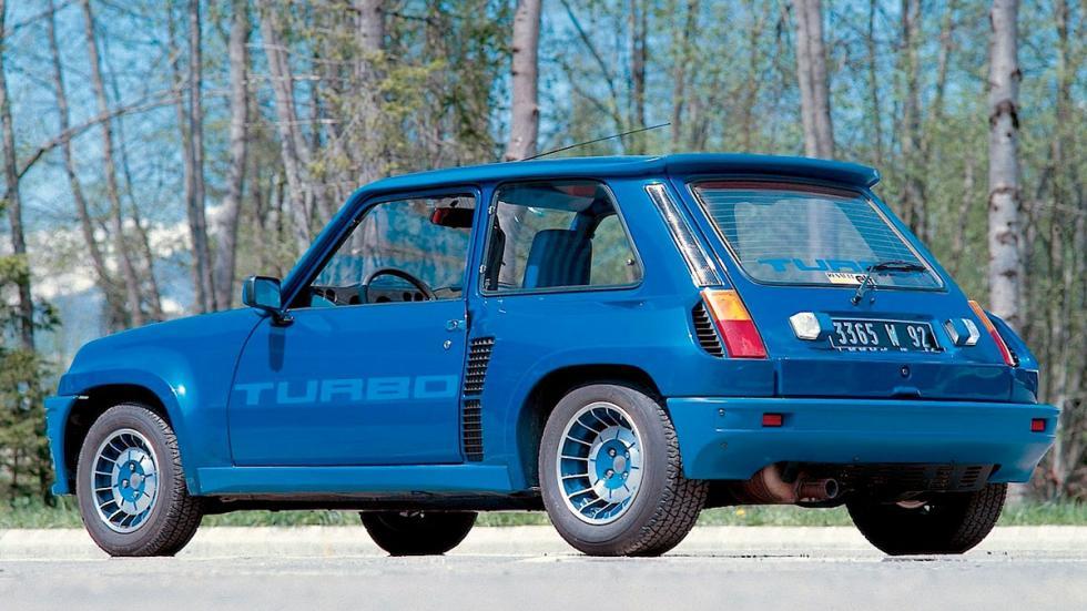 Renault 5 Turbo historia deportivo compacto utilitario rally grupo b