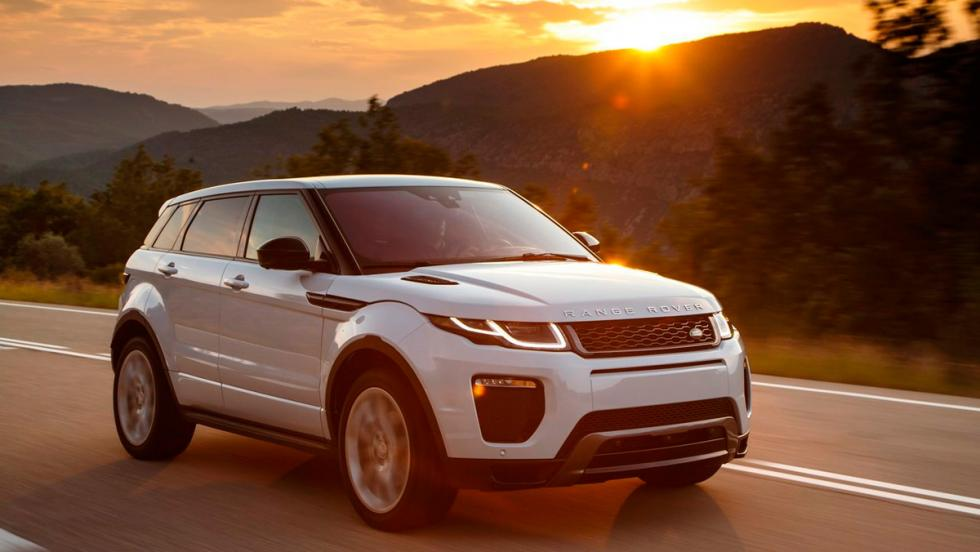 Rivales del Audi Q3: Range Rover Evoque (I)