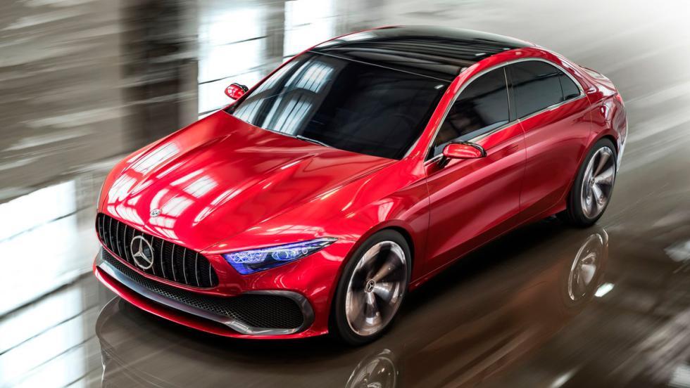 Salón de Shanghái: Mercedes-Benz Concept A sedán