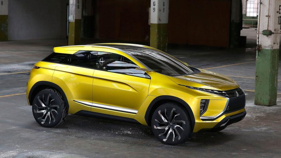 Salón de Shanghái: Mitsubishi EX Concept