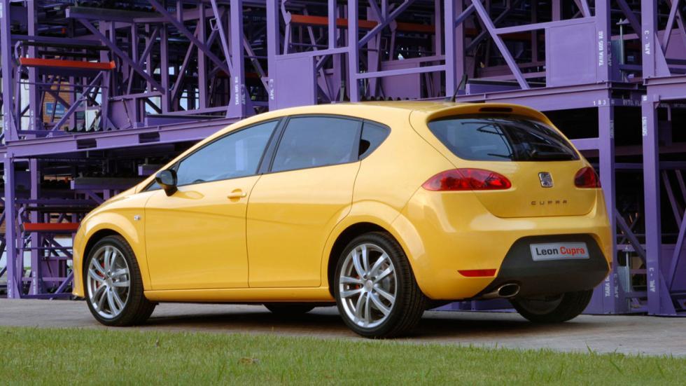 Seat León Cupra 2007 trasera