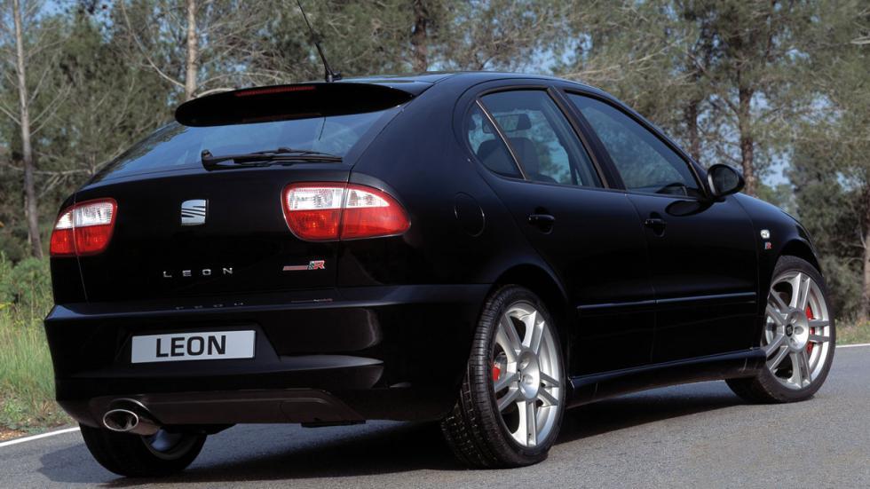 Seat León Cupra R trasera