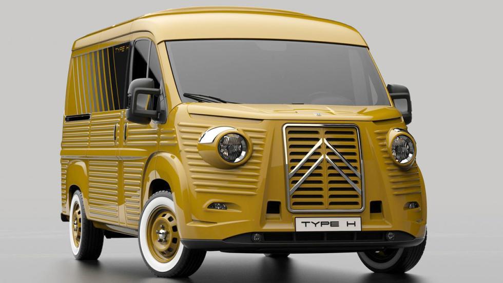 Vuelve la Citroën H clásica... y nueva