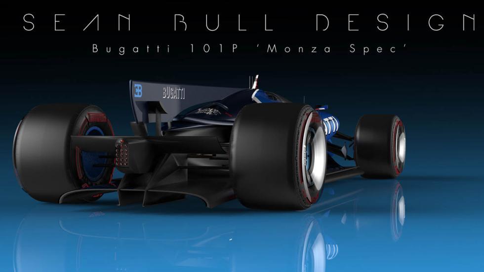 Zaga del Bugatti 101P