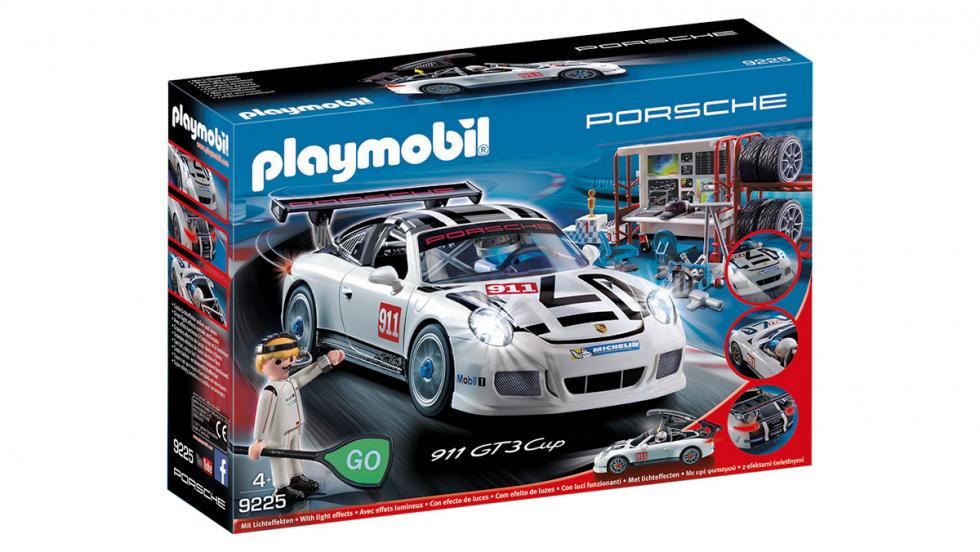 Los 10 mejores regalos para fanáticos de Porsche - 911 GT3 Cup de Playmobil