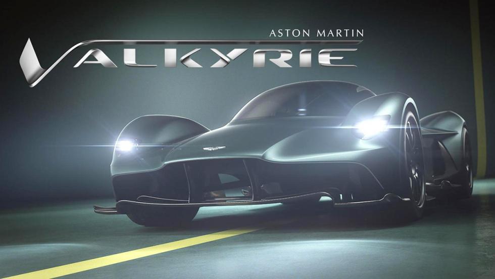 Los 12 hiperderportivos para circuito más salvajes - Aston Martin Valkyrie