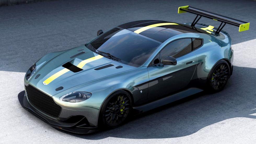 Los 12 hiperderportivos para circuito más salvajes - Aston Martin Vantage AMR Pro