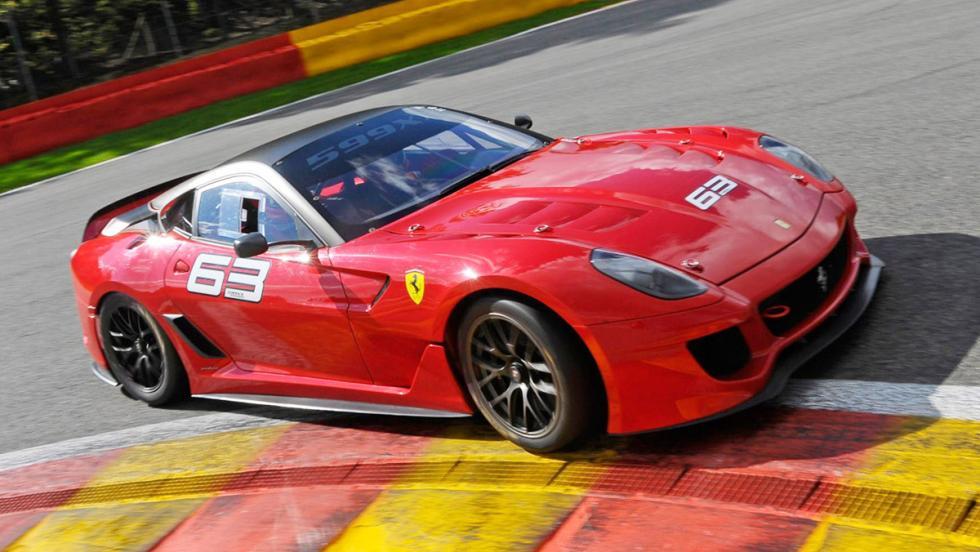 Los 12 hiperderportivos para circuito más salvajes - Ferrari 599XX
