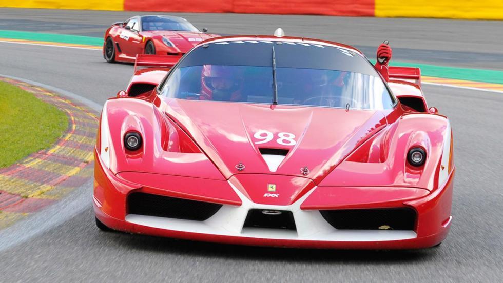 Los 12 hiperderportivos para circuito más salvajes - Ferrari FXX