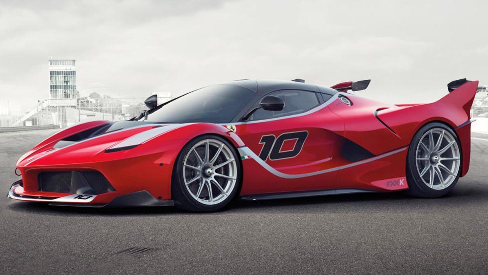 Los 12 hiperderportivos para circuito más salvajes - Ferrari FXXK