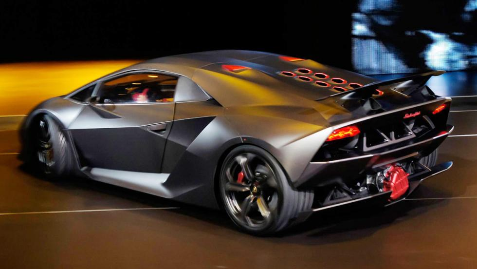 Los 12 hiperderportivos para circuito más salvajes - Lamborghini Sesto Elemento