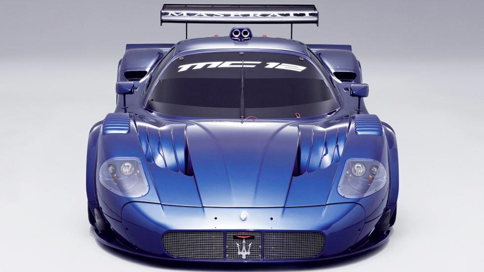 Los 12 hiperderportivos para circuito más salvajes - Maserati MC12 Corse