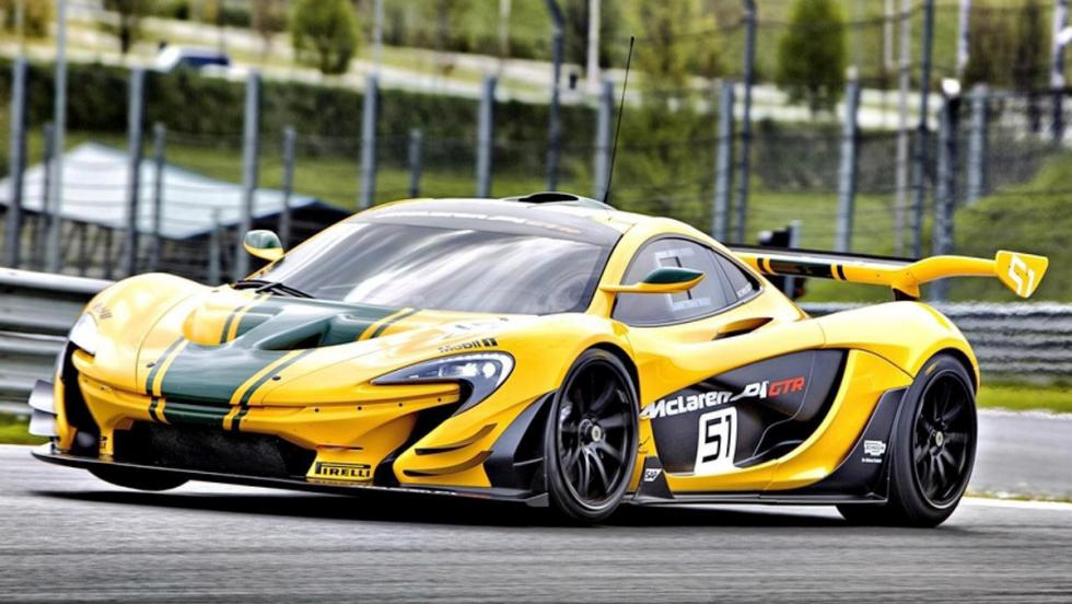 Los 12 hiperderportivos para circuito más salvajes - McLaren P1 GTR
