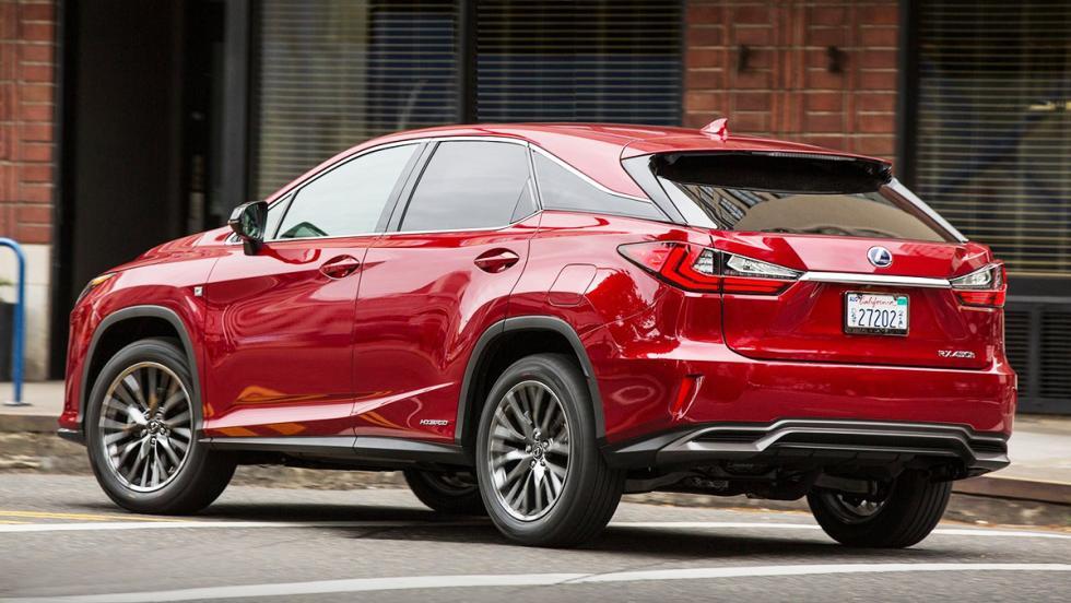 Las 5 claves del Lexus RX - Tiene acabado F Sport