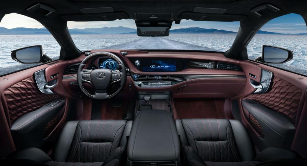 Lexus LS 500h 2017 12