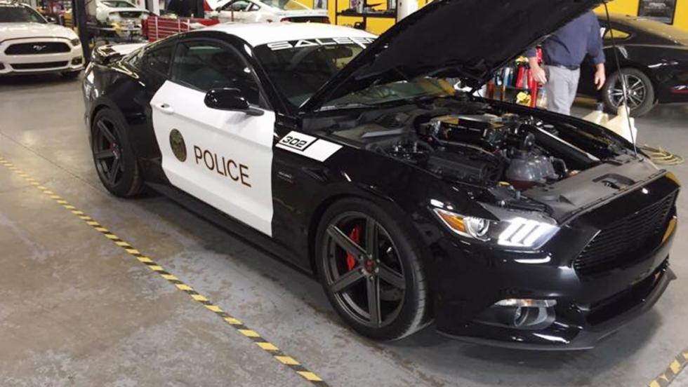 Así es el Saleen Mustang de la Policía de California