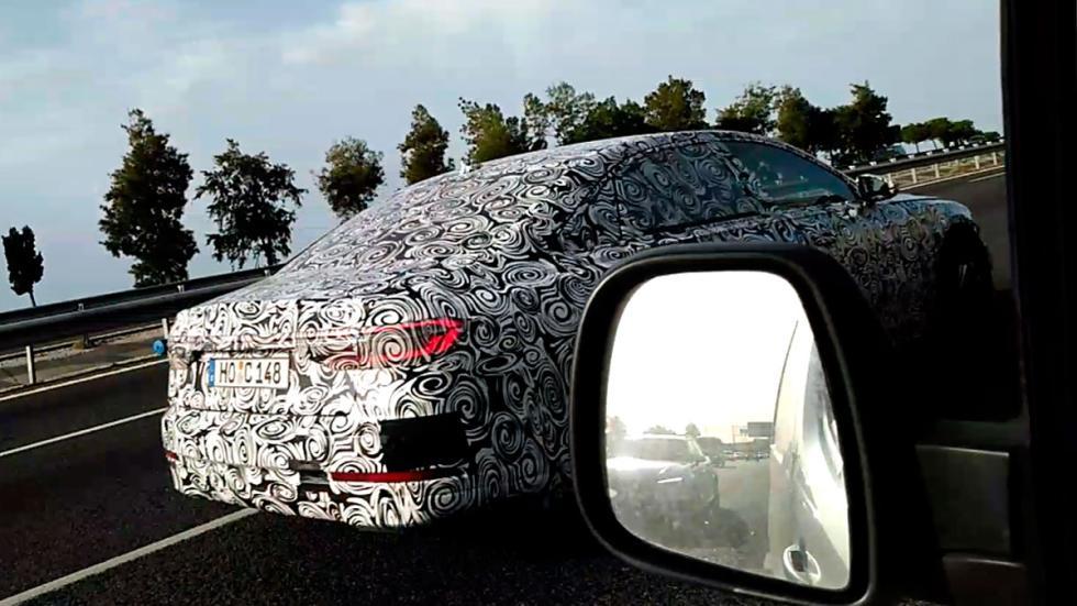 Audi A8 2018 camuflado berlina sedán