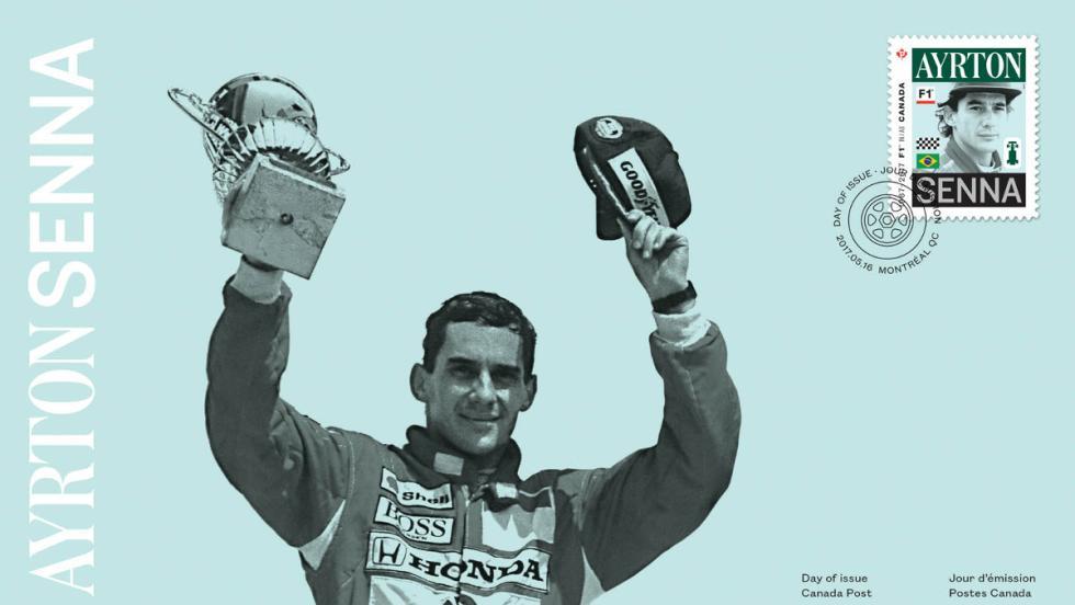Ayrton Senna, el mito brasileño ganó dos veces en Canadá