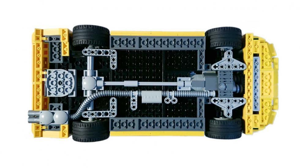 BMW M3 E30 Lego bajos