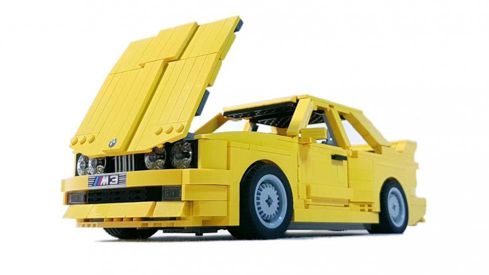 BMW M3 E30 Lego frontal y capó