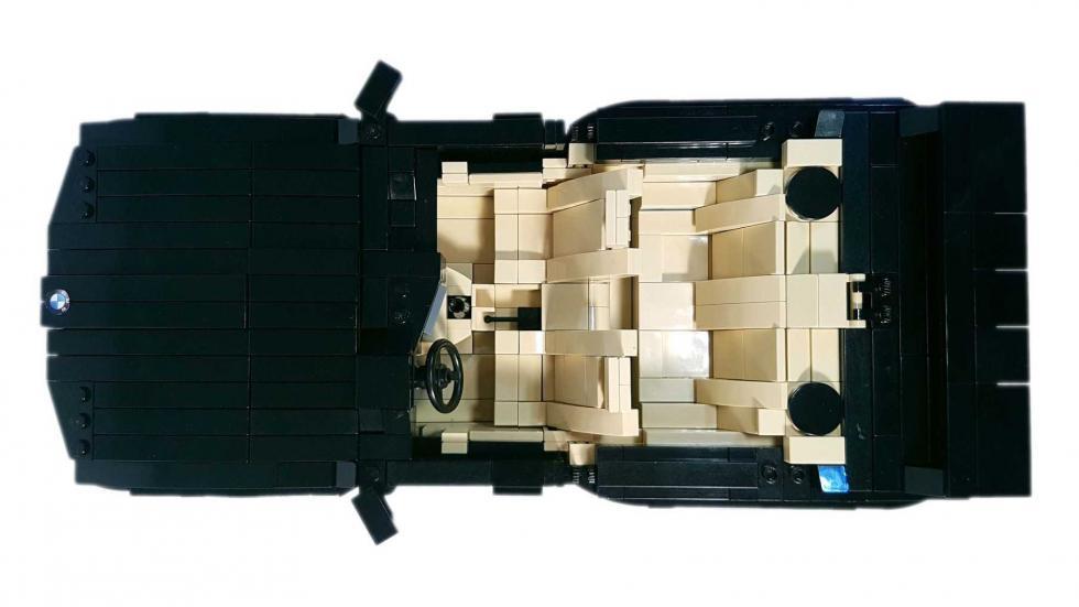 BMW M3 E30 Lego interior