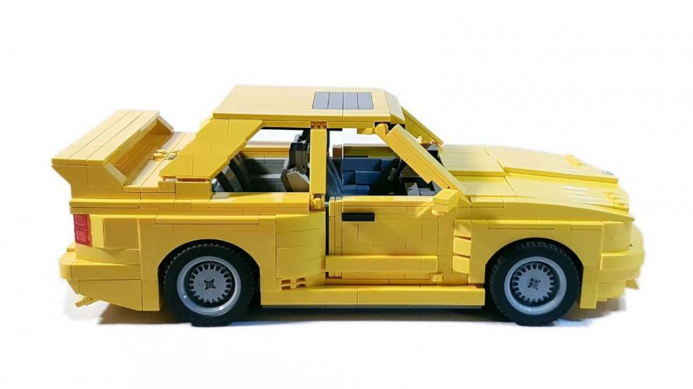 BMW M3 E30 Lego lateral