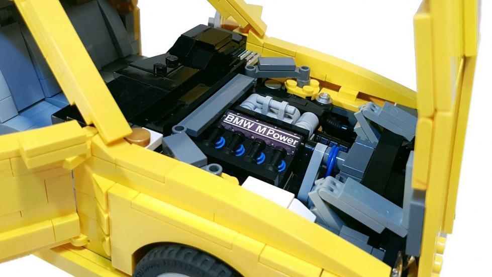 BMW M3 E30 Lego motor