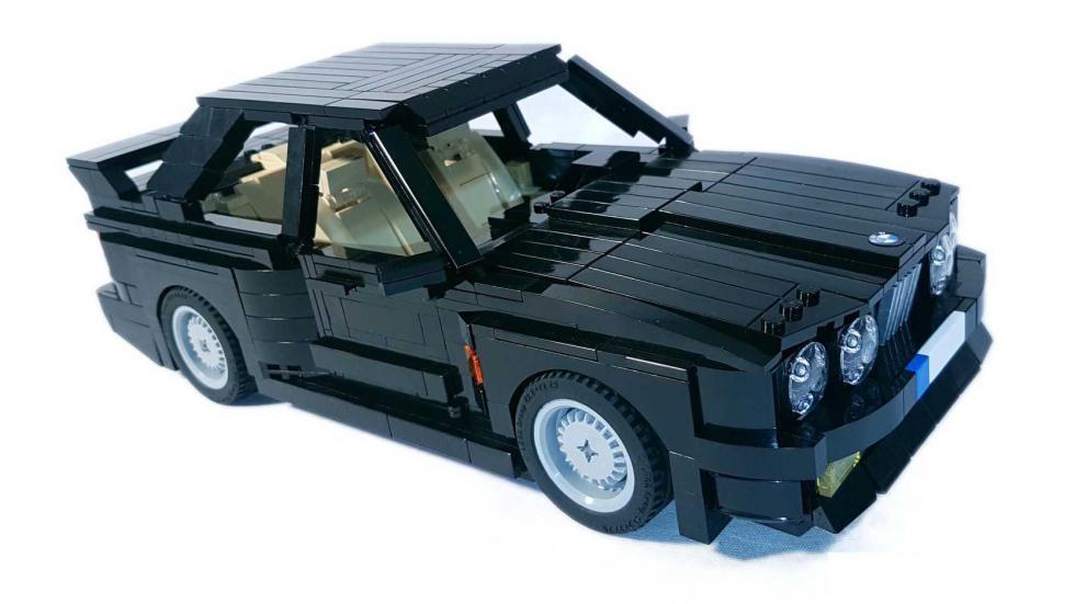 BMW M3 E30 Lego negro