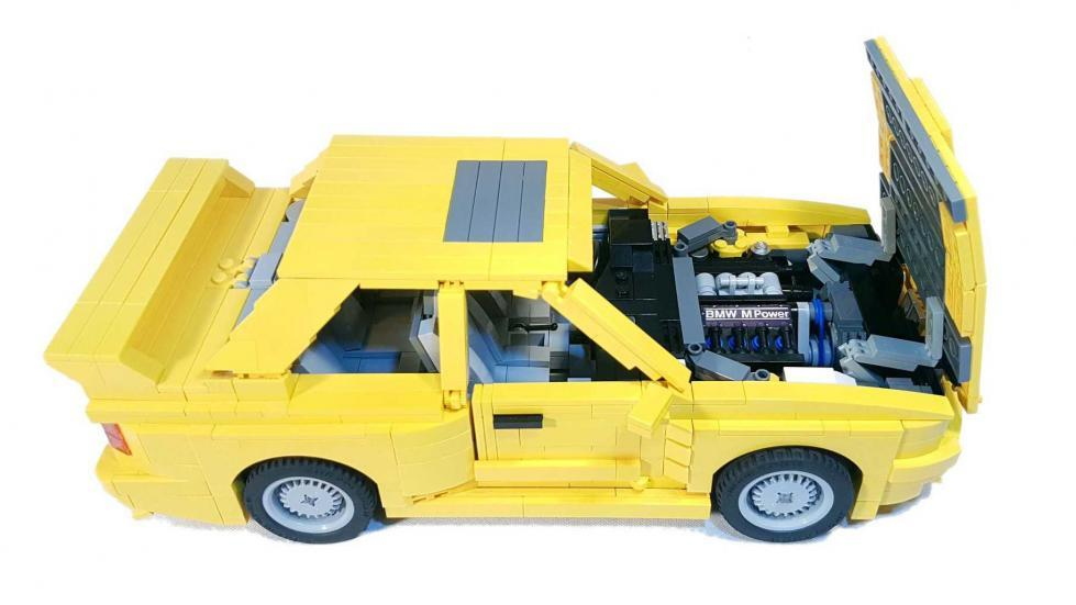 BMW M3 E30 Lego visión general