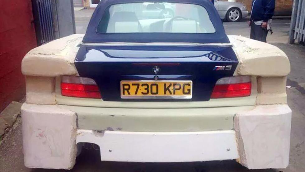 El BMW M3 tuneado más lamentable del mundo