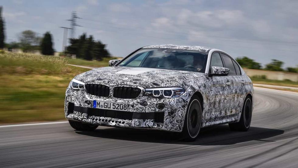 BMW M5 2017 frontal