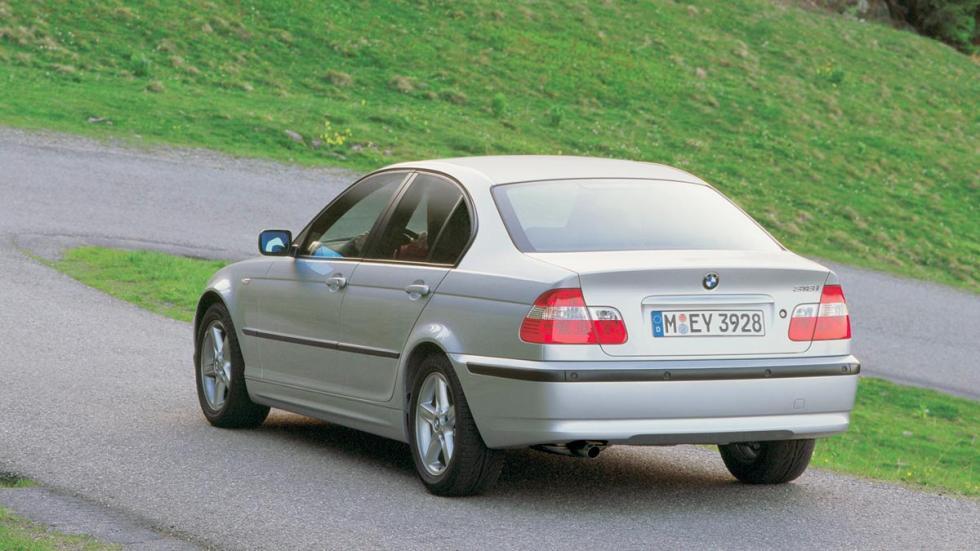 BMW Serie 3 E46 trasera