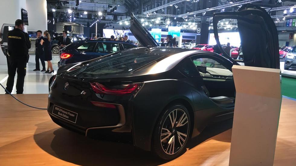Coches más espectaculares Salón de Barcelona: BMW i8 Protonic Frozen